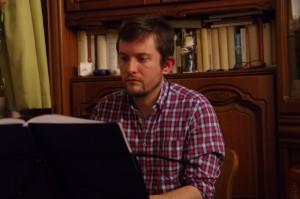 Christian Renz am Piano